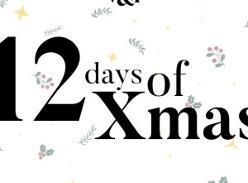 Win 12 days of Xmas prizes!