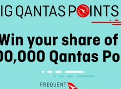 Win a share of 1 Million Qantas points!