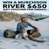 Win an Amazing Murchison River Swags Gift Voucher