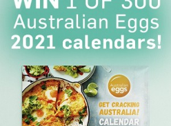 Win 1 of 300 2021 Australian Eggs 'Get Cracking Australia!' Calendars