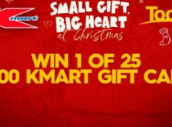 Win 1 of 25 $1,000 Kmart Gift Cards