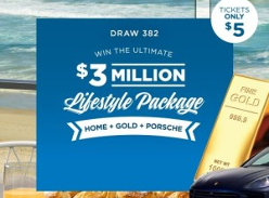 Win the ultimate $3 million lifestyle package!
