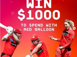 Win a $1,000 Red Balloon Voucher