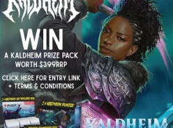 Win a Magic the Gathering (MTG) Kaldheim Prize Pack