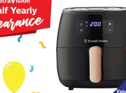 Win a Russell Hobbs 5L Brooklyn Air Fryer