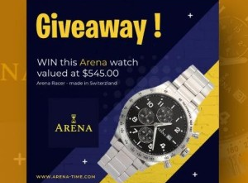 Win an Arena Racer Watch
