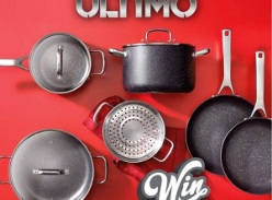 Win a Baccarat Ultimo 6 Piece Non-Stick Cookware Set