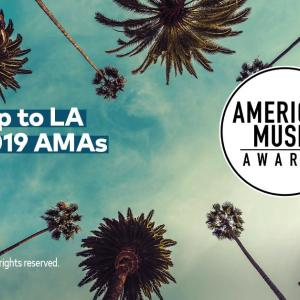 Win a trip for 4 to LA to the 2019 American Music Awards!