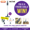 Win a Vax SlimVac Total Home Cordless Handstick
