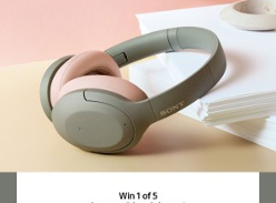 Win 1 of 5 Pairs of Sony WH-H910N Wireless NC Headphones