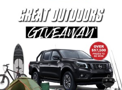 Win a Nissan Navara ST 4x4 + $10,000 to spend on outdoor & adventure products!
