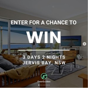 Win a Stay at Jervis Bay for 3 Days/2 Nights