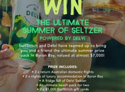 Win a trip for 2 to Byron Bay