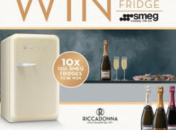 Win 1 of 10 Smeg 50s Retro Bar Fridges!