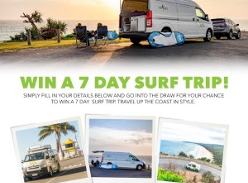Win a 7 Day Surf Trip