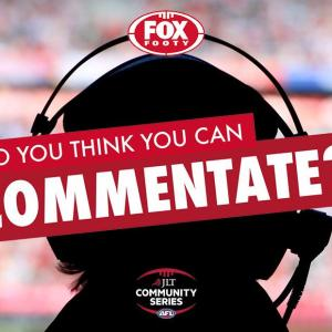 Afl Experinece To Commentate Live On Fox Footy During The Geelong Cats V Essendon Game Competitions Com Au