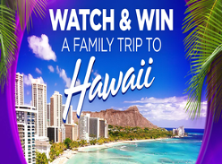 Win a Family Trip to Hawaii