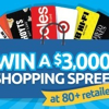 Win a $3000 shopping spree