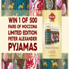 Win a pair of Moconna Limited Edition Peter Alexander Pyjamas