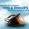 Win a Philips PerfectCafe Elite Plus steam iron