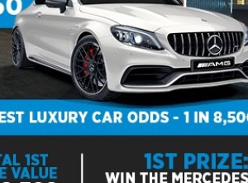 Win this white hot AMG C63 S!