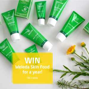 Win a year's supply of Skin Food