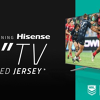 Win a 75 ULED Q8 TV & a signed NRL jersey!