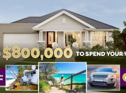 Win an $800,000 1st Prize + $128,500 in additional prizes!
