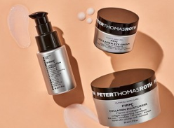 Win Peter Thomas Roth FIRMx Collagen products