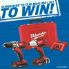Win a Milwaukee M18 drill kit