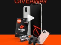 Win 1 of 3 iPhone X (Refurbished) & Sony Headphone Bundles
