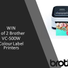 Win 1 of 2 Colour Label Printers