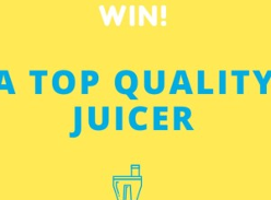 Win a Breville Juice Fountain