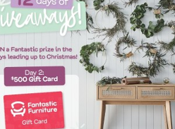 Win 1 of 12 Furniture or Gift Card Prizes