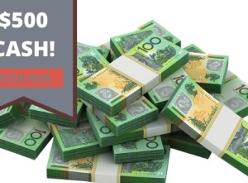 Win $500 Cash!