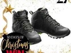 Win a pair of Kathmandu Aysen ngx Hiking Boots