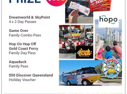 Win 1 of 4 Gold Coast Attraction Prize Packs!