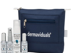 Win 1 of 3 dermaviduals Travel Kits
