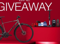Win a Giant Cross City 2 Disc Equipped Bike & Accessories