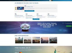 Win a $10,000 Travel Voucher or one of 12 $1,000 gifts to explore