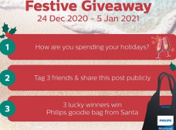 Win 1 of 3 Philips Goodie Bags