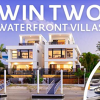 Win two $3.7M waterfront villas