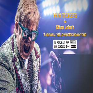 Win a trip for 2 to see Elton John's farewell tour in New York!