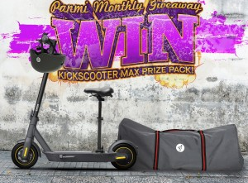 Win a Segway-Ninebot Kickscooter MAX Prize Pack