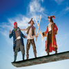 Win 1 of 5 double passes to 'Peter Pan Goes Wrong'