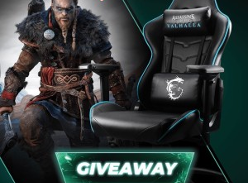 Win 1 of 2 Limited Edition MSI CH120 Valhalla Gaming Chairs