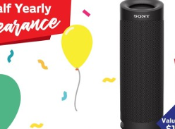 Win a Sony XB23 Portable Bluetooth Speaker