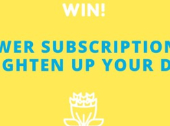Win a 6-Month Floraly Flower Subscription