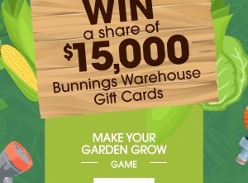 Win 1 of 15 $1,000 Bunnings Warehouse Gift Cards