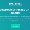 Win a Bali Escape for 6 Worth $30,000 or Other Accommodation/Experience Prizes